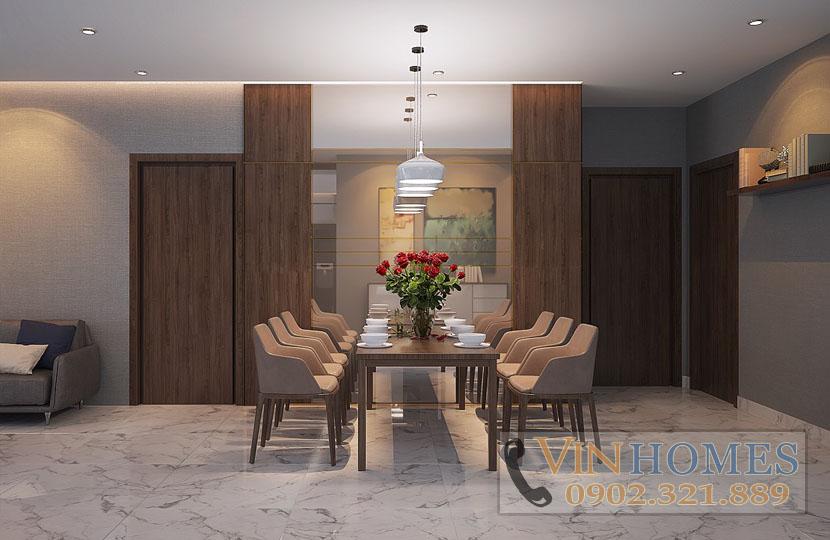 cho thuê căn hộ Vinhomes tòa Park 5 140m2 tầng trung nội thất mới - hinh 4