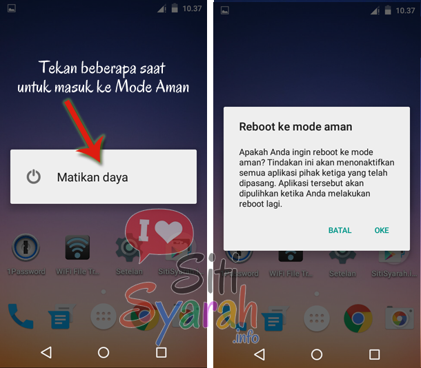 coludn't add widget di android lollipop