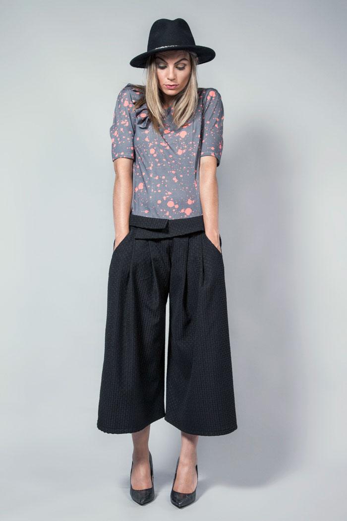 pantalon culottes invierno otoño