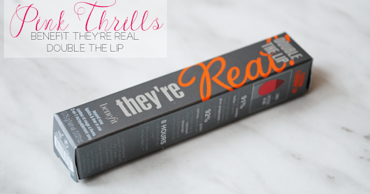 Benefit They're Real Double the Lip in Pink Thrills