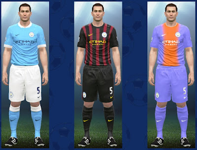 MT Games 1991 PES 2016 Manchester City 2016/2017 Kitpack