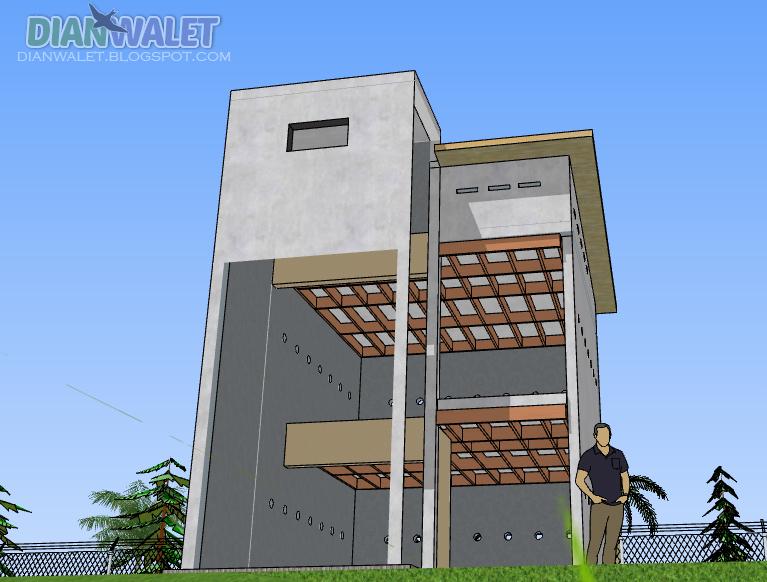 desain rumah walet 4 u00d78  u2013 rumah desain minimalis