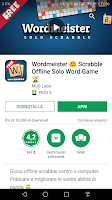 "Consulta ""Wordmeister 😍 Scrabble Offline Solo Word Game 🏆"" https://play.google.com/store/apps/details?id=com.marketjs.wordmeistergplay"