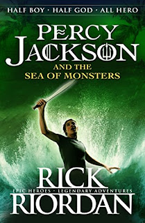 Book Review: Percy Jackson and the Sea of Monsters by Rick Riordan