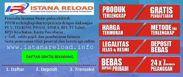 Web Resmi Server Istana Reload Pulsa Termurah Saat Ini