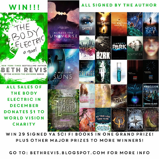 My Biggest Giveaway Ever: Win 29 signed books, 15 ARCs, or other awesome prizes!
