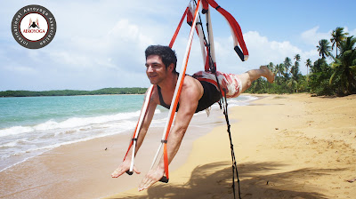 yoga aéreo Rafael Martinez