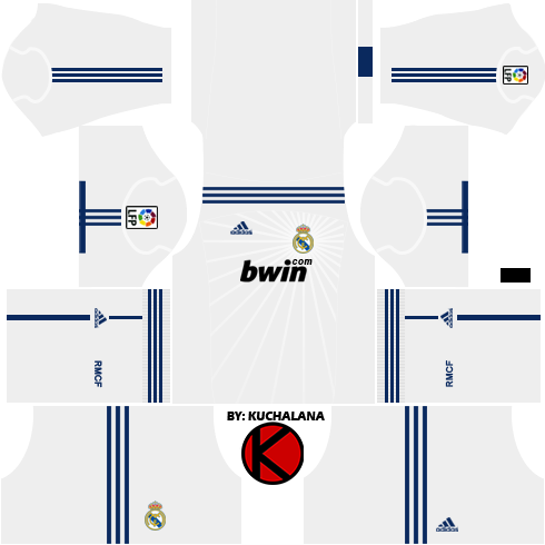 Real Madrid Kits 2010 2011 Dream League Soccer Kuchalana