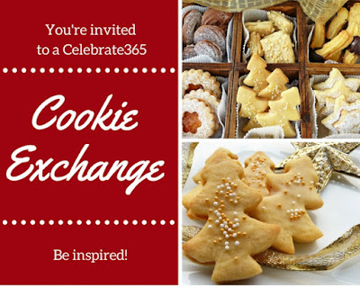 Cookie Exchange #Celebrate365 Link Blog Party - pin your favorite Christmas Cookie recipes