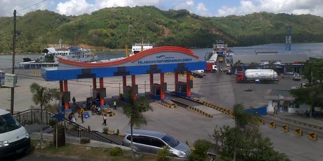 Pelabuhan Lembar.