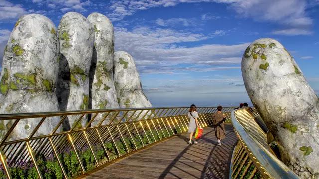 God's Hand Bridge in Vietnam Is a New Destination for the Traveler