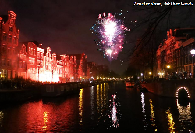 Amsterdam on New Year's Eve