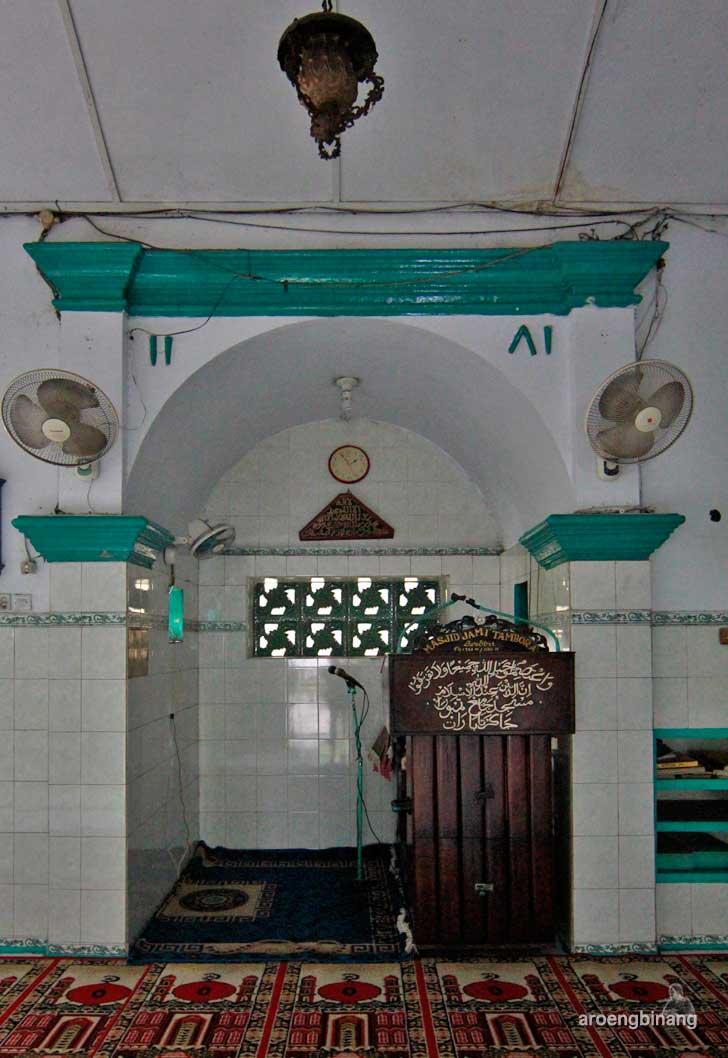masjid jami tambora jakarta