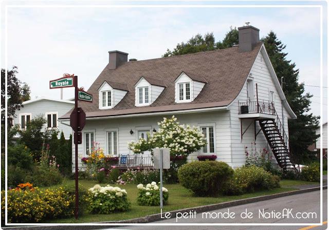 Maison située à proximité de la chute de Montmonrency