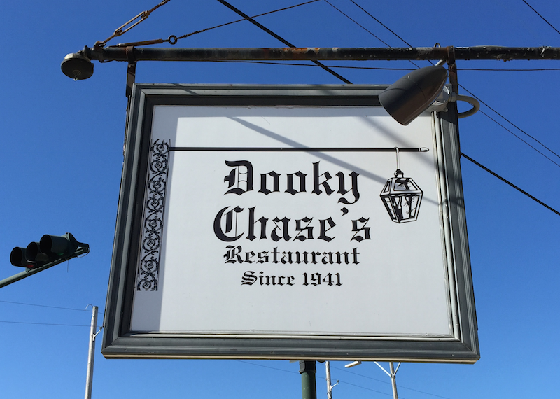 Dooky Chase's Restaurant in the Treme district of New Orleans