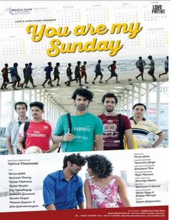 Watch Online Bollywood Movie Tu Hai Mera Sunday 2017 300MB HDRip 480P Full Hindi Film Free Download At WorldFree4u.Com
