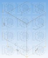 Емкости прямоугольные