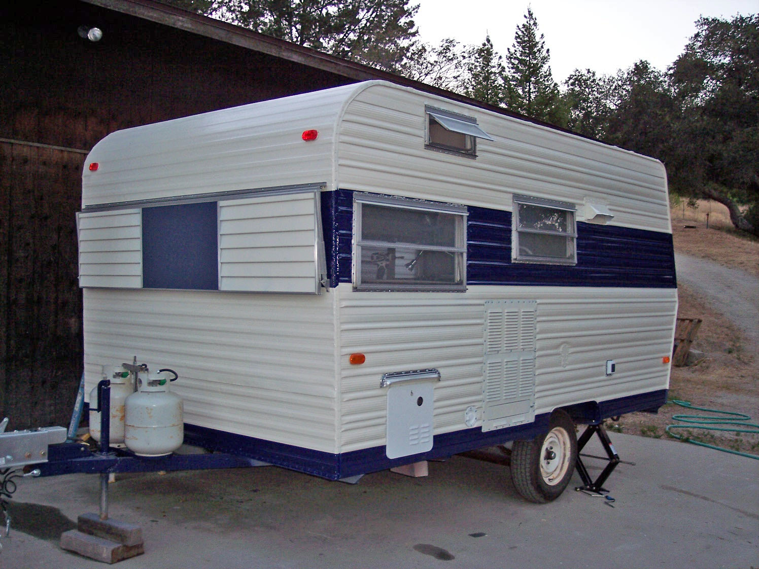 Adventures In Vintage Travel Trailer Remodel