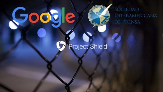 Google y la SIP llevan el proyecto Shield para proteger paginas web