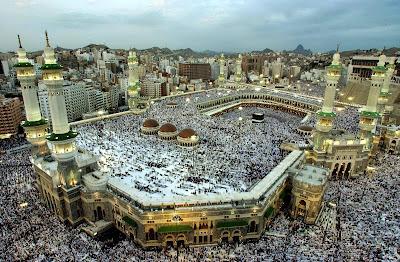 Tidak pernah sepi akan umat muslim