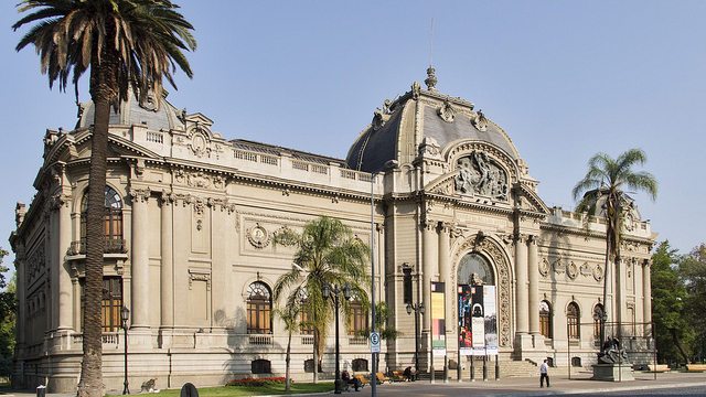 Museu de Belas Artes Santiago Chile