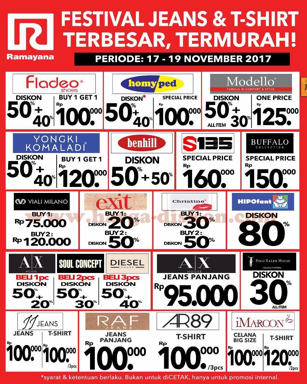 Katalog Harga dan Promo RAMAYANA Department Store Terbaru