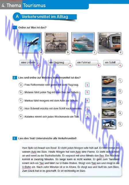 Almanca A1.2 Çıpa Yayınları Çalışma Kitabı Cevapları Sayfa 37
