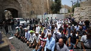 Intifada não violenta em Jerusalém