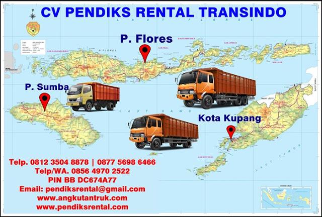 Angkutan Truk Jakarta Flores Sumba Kupang Nusa Tenggara Timur