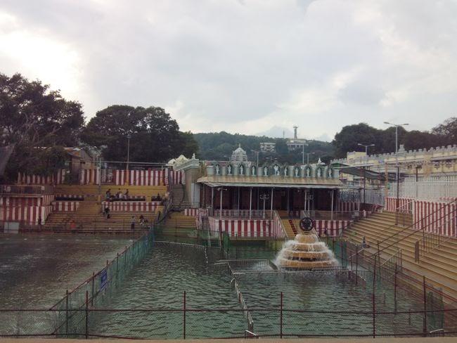 Sri Bhu Varaha Swamy Temple Next To Pushkarni