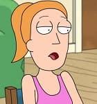 Summer Smith : Es la hermana de Morty a quien también le gustan las aventuras