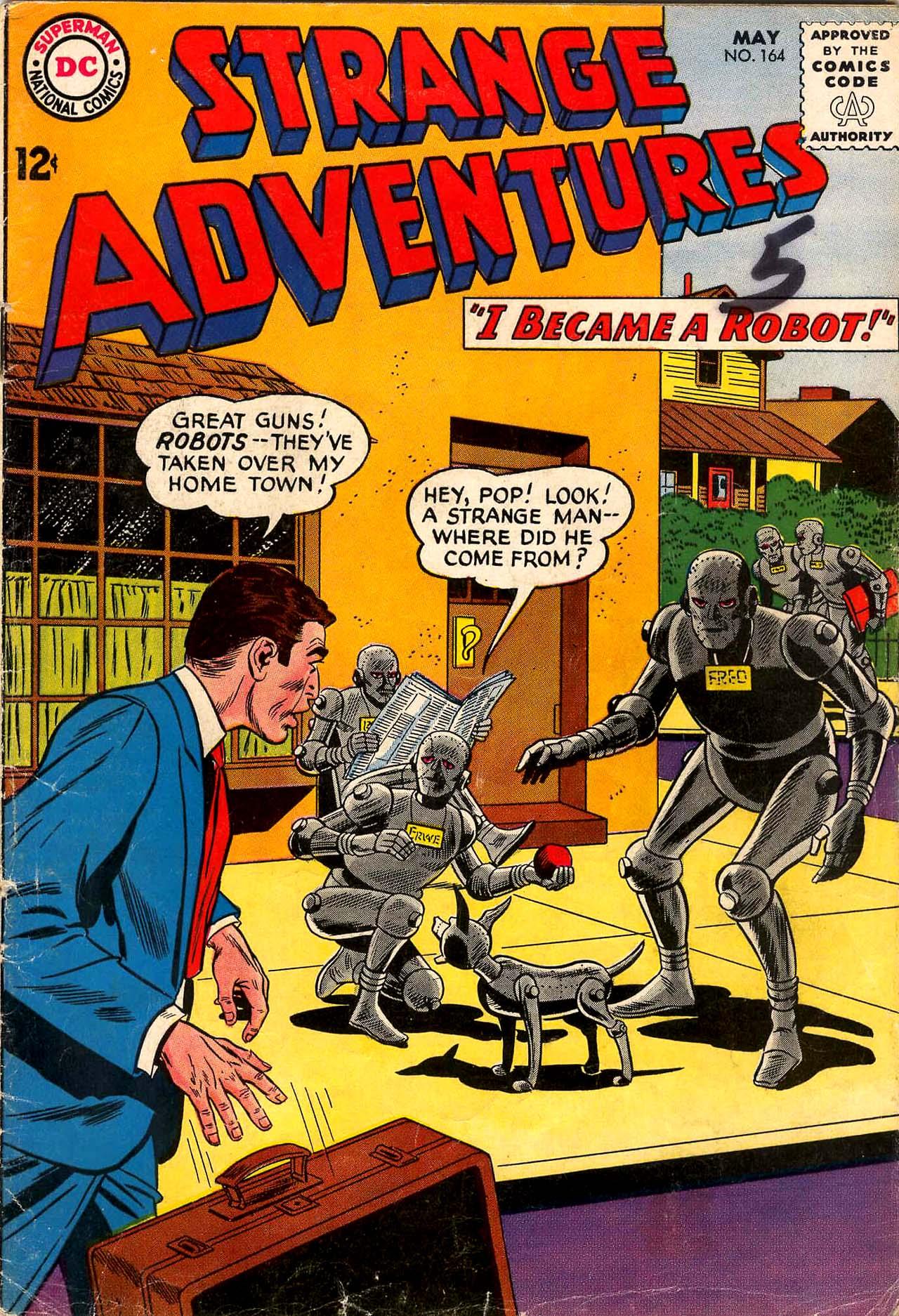 Strange Adventures (1950) issue 164 - Page 1