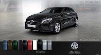Mercedes A200 2017 màu Đen Night 696