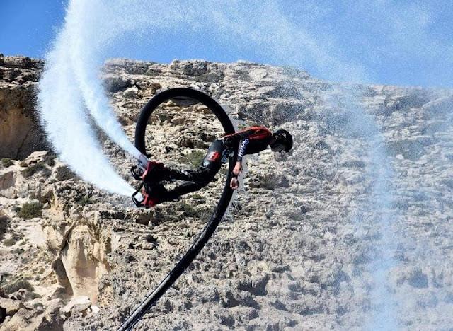 Εντυπωσιακό θέαμα flyboard στον Έλληνο-Κυπριακό αγώνα τζετ σκι