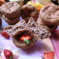 Erdbeer Vanille Muffins
