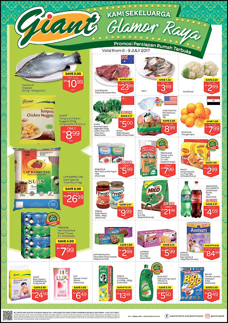 Malaysia Giant Catalogue Discount Offer Weekend Promo