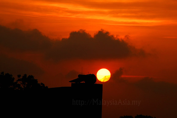 Hanoi Sunset Photo