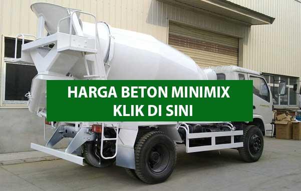 Harga Beton Minimix Mobil Molen Kecil Per M3 2021 Pratama Readymix