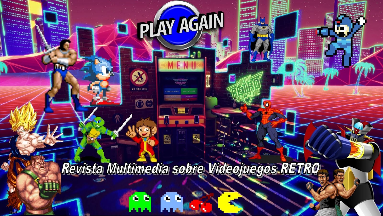 Revista Multimedia de Videojuegos RETRO