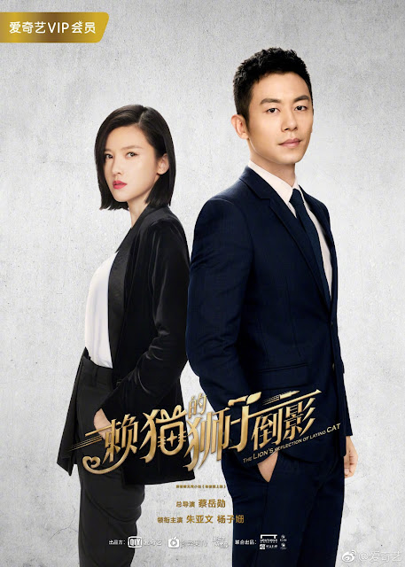 Poster The Lion's Reflection of Laying Cat iQiYi drama