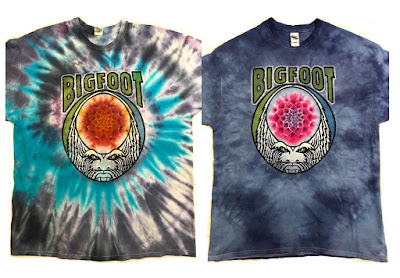 Stomp Your Face Tie Dyed T-Shirt by Bigfoot x KEF