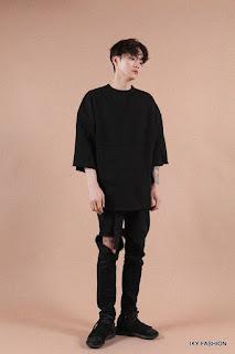 model Kaos Dan Celana Jeans pria kekinian