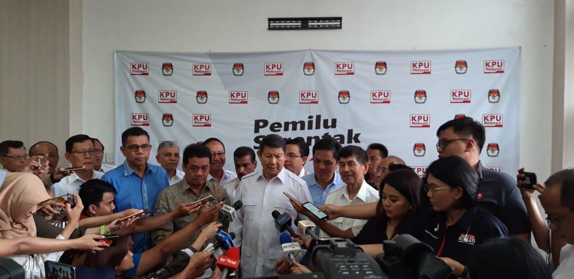 Prabowo-Sandi Usut 17 Juta DPT Tidak Wajar