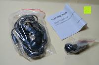 Lieferumfang: In Ear Kopfhörer UMIDIGI geräuschisolierender In-Ear Stereo Kopfhörer verbesserter Bass mit Mikrofon für iOS und Android Geräte mit 3.5mm Kopfhöreranschluss – (Schwarz)