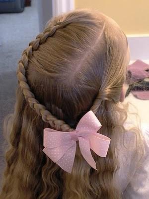 Peinados A La Moda Elegantes Peinados De Fiesta Para Ninas 2013
