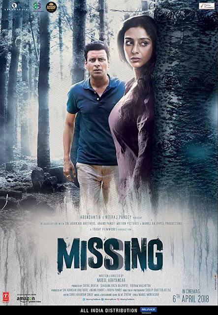 poster Missing 2018 Hindi HD 300MB