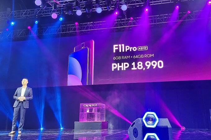 OPPO F11 Pro Philippines Price