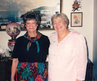 Peggy Malmgren and Alfreda Olsen