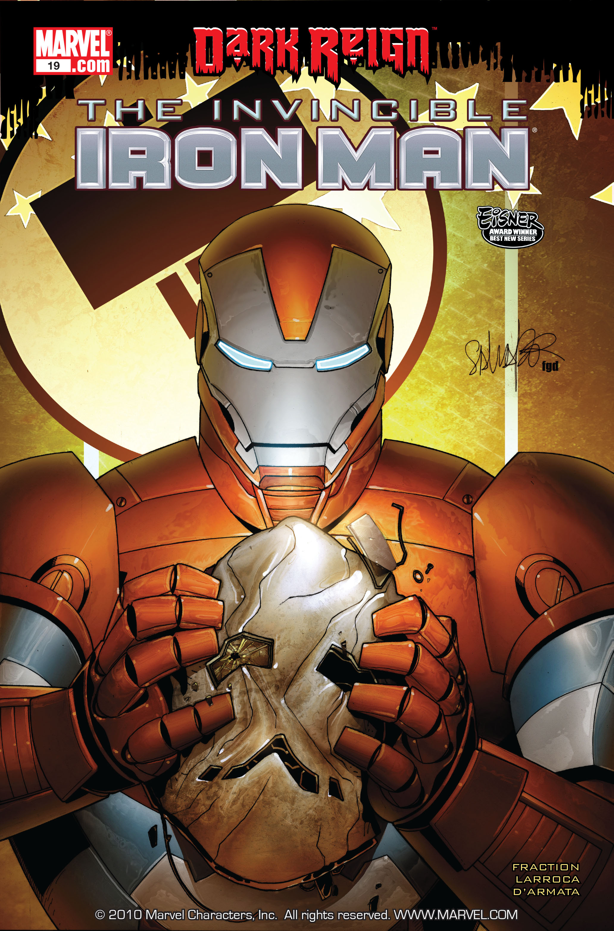 Invincible Iron Man (2008) 19 Page 1