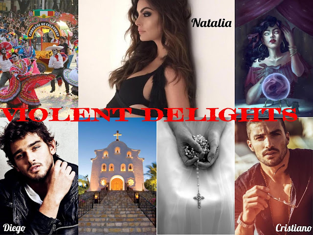 violent delights photo collage